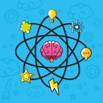 Creatividad de la ciencia de la idea