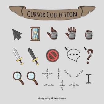 Creativo pack de cursors