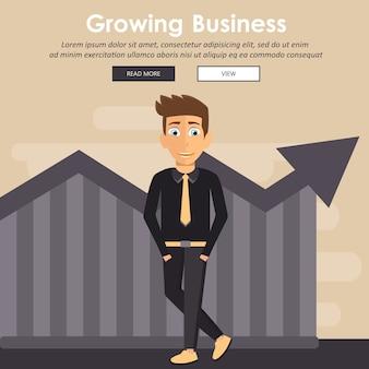 Crecimiento empresarial en aspectos financieros