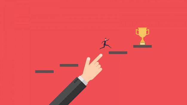 Crecimiento y éxito empresarial