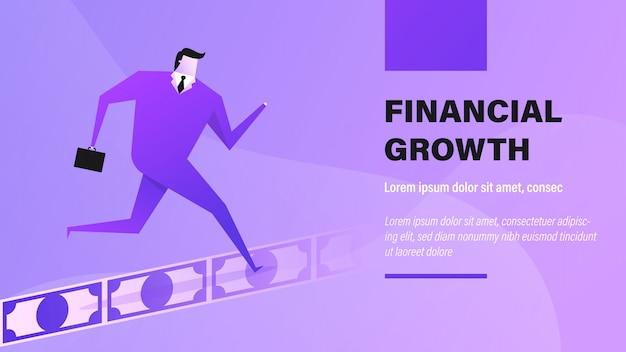 Crecimiento financiero.