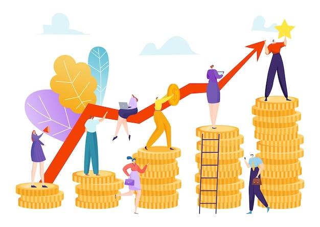 Crecimiento de la inversión financiera
