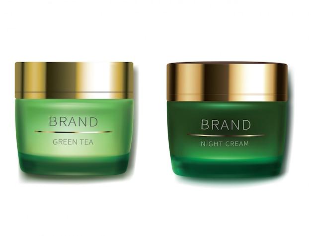 Crema cosmética día y noche.