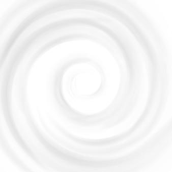 Crema remolino. ondas circulares. superficie curva