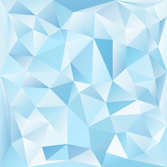 Cristal azul y blanco con textura de fondo