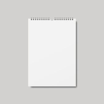 Cuaderno realista, diario o libro.