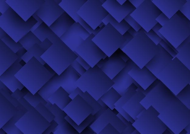Cuadrados abstractos diseño de fondo