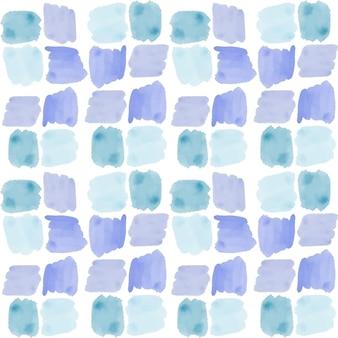 Cuadrados acuarela abstracta de patrones sin fisuras