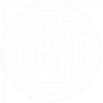 Cuadrícula geométrica de latitud y longitud