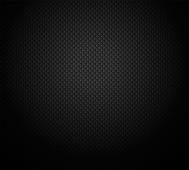 Cuadrícula geométrica negra oscura