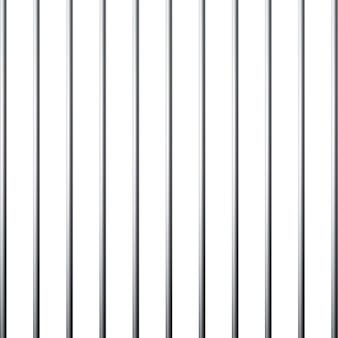 Cuadrícula de prisión. jaula de metal