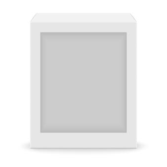 Cuadro en blanco blanco realista