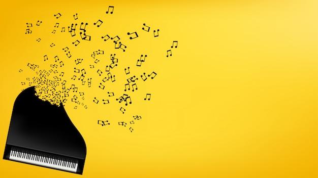 Cuadro de piano