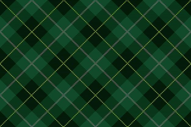 Cuadros de tartán sin costura, ilustración vectorial. repetible horizontal y verticalmente.