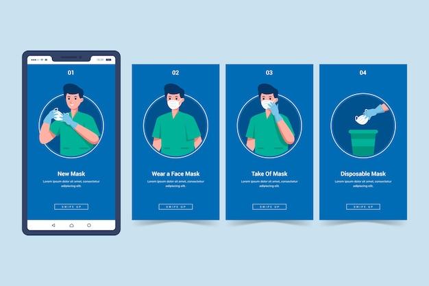 Cuándo y cómo usar historias de instagram de equipos de protección sanitaria