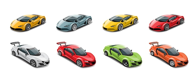 Cuando el juego comienza, el jugador puede seleccionar el coche de carreras en la biblioteca del juego y aumentar el rendimiento del coche de carreras