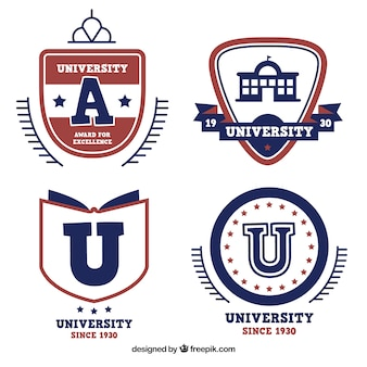 Cuatro logotipos para la universidad