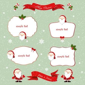 Cuatro marcos para navidad