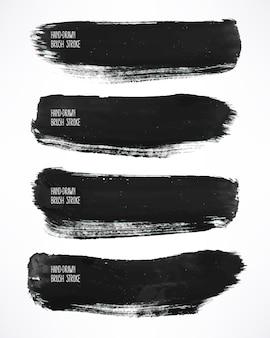 Con cuatro pinceladas de acuarela negra