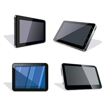 Cuatro tabletas