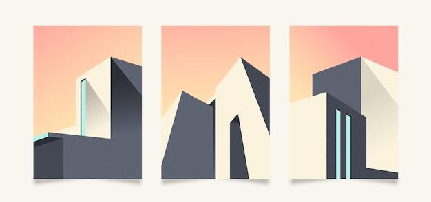 Cubiertas de arquitectura mínima