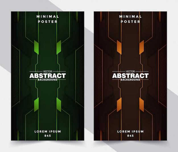 Cubiertas geométricas abstractas