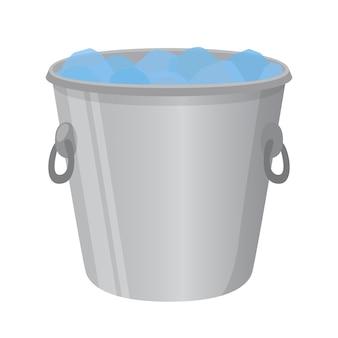 Cubo de hielo para el alcohol