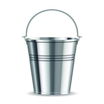 Cubo de metal