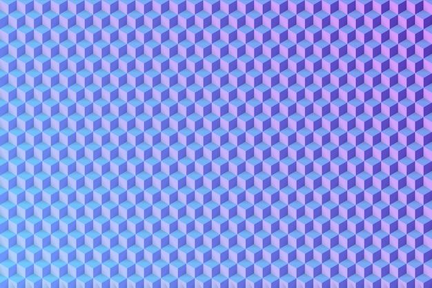 Cubo transparente de patrón de luz