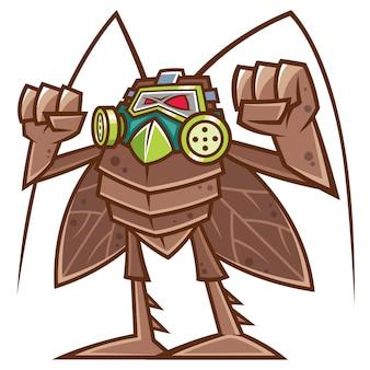 Cucaracha de dibujos animados