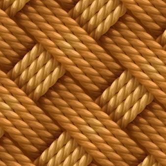 Cuerda de sisal de fibra de cáñamo natural