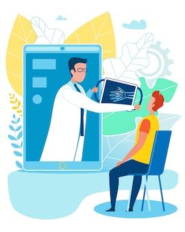 Cuidado médico inteligente de huesos y cura de fracturas en línea