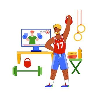 Cuidado personal y mantenerse saludable en casa ilustración vectorial de dibujos animados aislado.