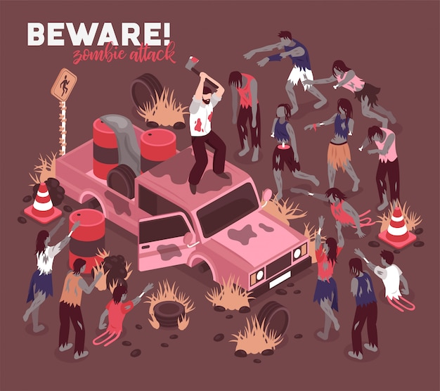 Cuidado con los zombis