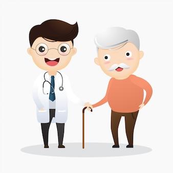 Cuidar a los ancianos
