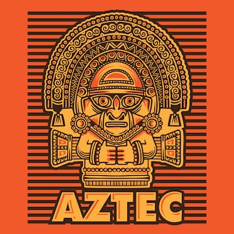 Cultura de la máscara azteca