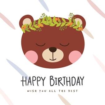 Cumpleaños bear