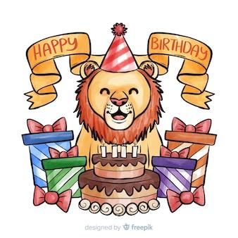 Cumpleaños de león