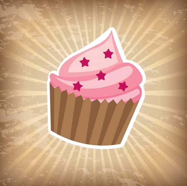Cumpleaños de la torta de la taza
