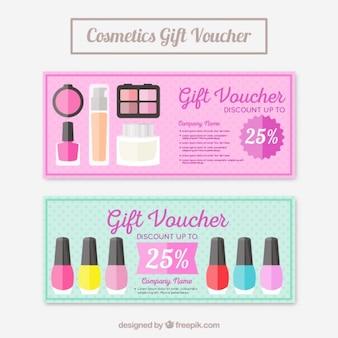 Cupones de productos de maquillaje