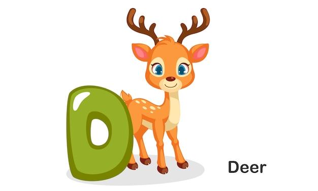 D para los ciervos