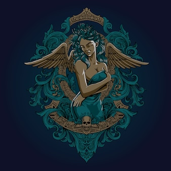 Dama angel