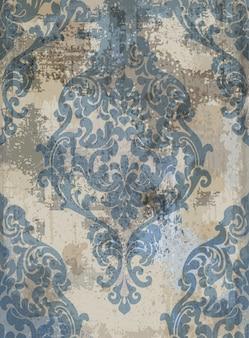 Damasco textura grunge fondo