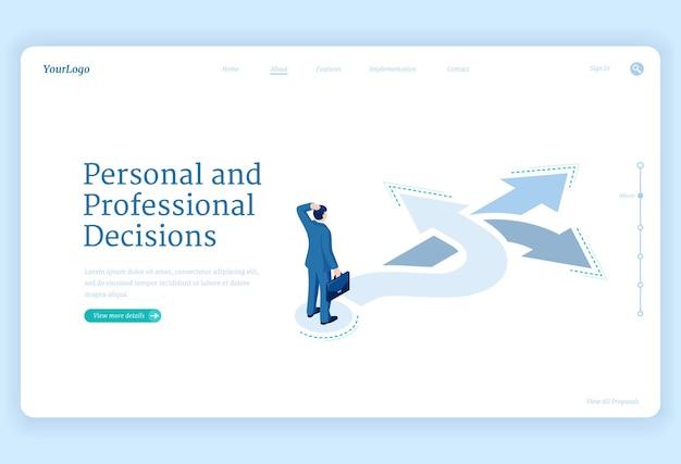 Decisión profesional
