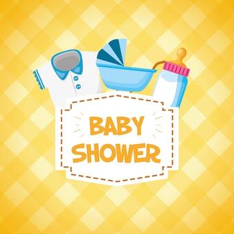 Decoración para baby shower