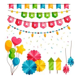 Decoración de fiesta de cumpleaños
