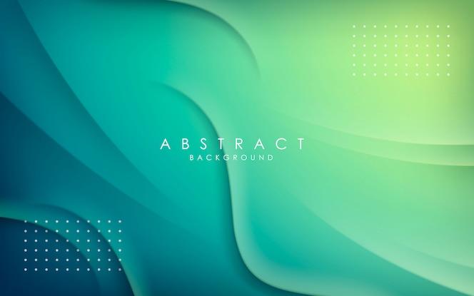 Decoración de forma dinámica de fondo abstracto.