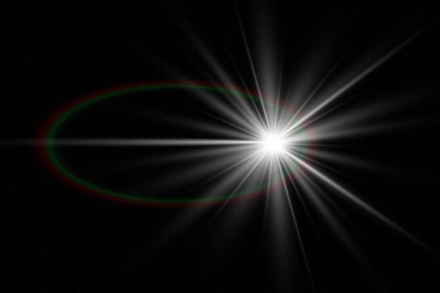 Decoración de ilustración de efecto de luz resplandor