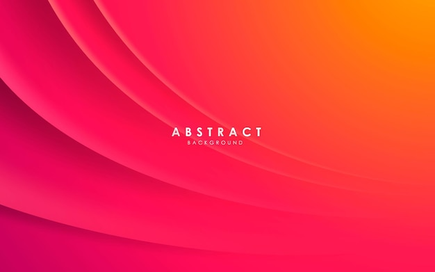 Decoración de luces y sombras onduladas de color degradado de fondo moderno abstracto
