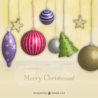 Decoración de navidad 3d